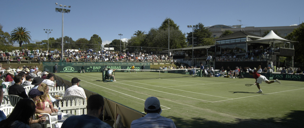 Davis Cup Tie Auckland 2007 at the Parnell Lawn tennis club